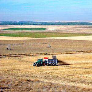 El abonado con materia orgánica enriquece la tierra