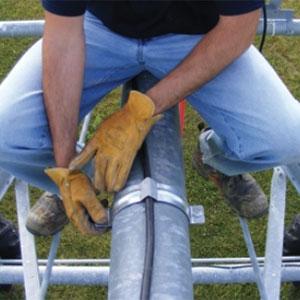 dificulta el robo del cable eléctrico del Pivot