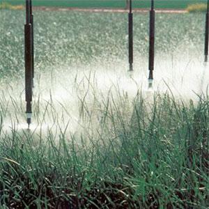 Control automático del riego por aspersión
