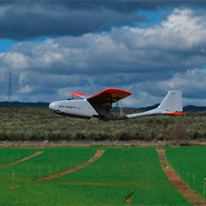 Detección aérea de las necesidades hídricas de los cultivos