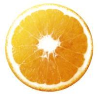 Geometría definida en una naranja