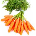 Nuevas formas de procesar la zanahoria para su consumo