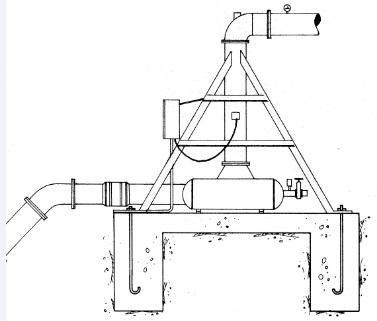 Filtro de malla para la entrada del Pivot