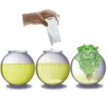 Extraer fertilizante de la orina