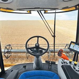 Control y corrección automática en cosechadoras