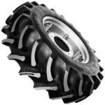 Neumáticos radiales de alta flotación que reducen la compactación del suelo