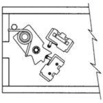 alineación en la caja eléctrica: micros y leva