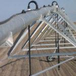 Estructura del Pivot de acero galvanizado