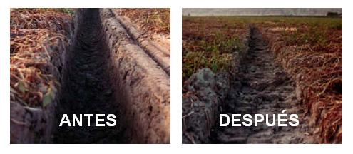 Antes y después de usar el track en las ruedas del Pivot