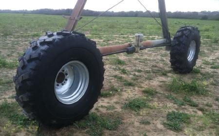 Neumático para Pivot de perfil ancho