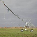 Mini Pivot para el riego de campos pequeños