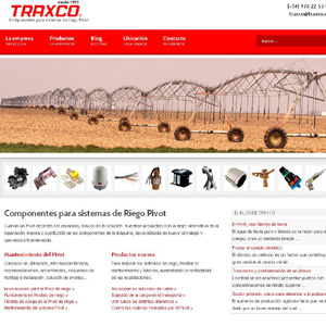 presentamos la nueva web de Traxco