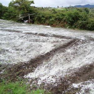 encalado para corregir el exceso de acidez del suelo