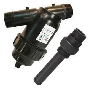 filtro y válvula de inyección