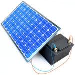 Baterías eficientes y placas solares más potentes