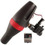 Micro turbina para alimentar instrumentos de medición