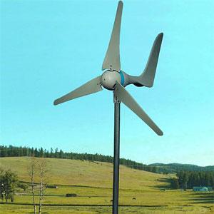 mini generador eólico