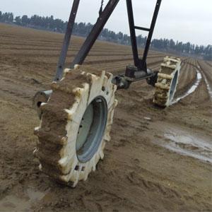 ruedas de polietileno para evitar problemas de roderas