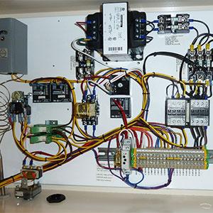 panel principal eléctrico del pivot