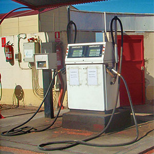 almacenamiento de combustible agrícola