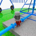 turbina de agua para generar electricidad