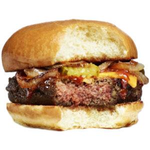 hamburguesa sin vaca
