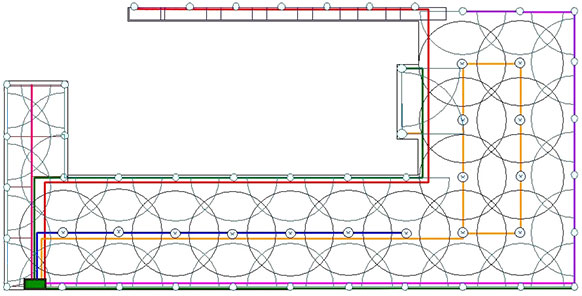 diseño de riego para jardin