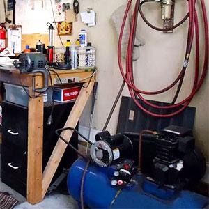 compresor de aire para taller