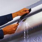 cinta adhesiva para fugas de agua