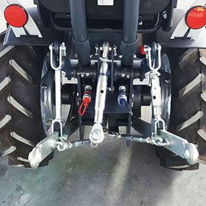 enganchar aperos al tractor