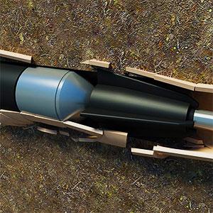 reparación de tuberías sin zanja