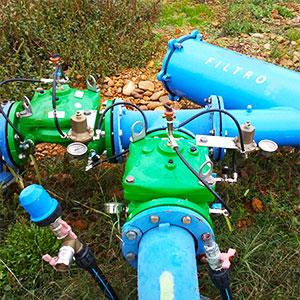 mantenimiento de instalaciones de riego