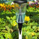 calibración del sistema de riego con pluviómetros