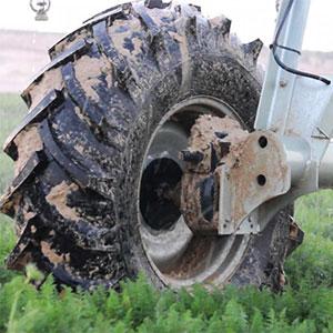 neumáticos para riego