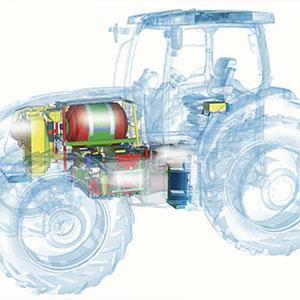 tractor de hidrógeno