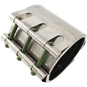 Abrazadera de reparación para tuberías