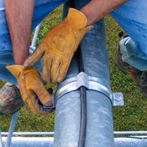 Protección contra el robo de cable de cobre