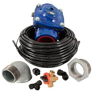 Válvulas hidráulicas, tubo tecalán y accesorios