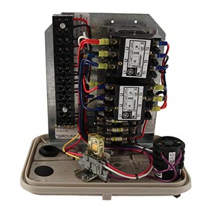 Caja eléctrica de rebombeo para Pivots Lindsay