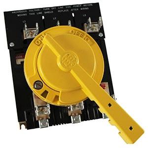 Desconectador del panel principal del Pivot