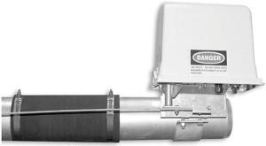 Instalación de caja eléctrica intermedia con varilla de alineación