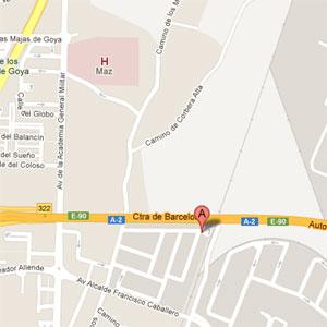 Ubicación de Traxco en el mapa