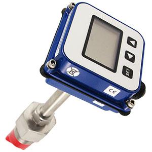 Caudalímetro digital para insertar en tuberías