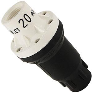 Regulador de presión para agua PMR Senninger