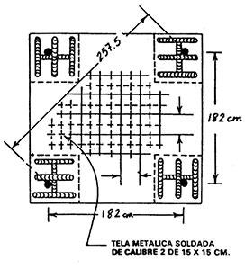 Tela metálica soldada de calibre 2
