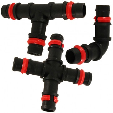 accesorios de polipropileno para tubos porosos