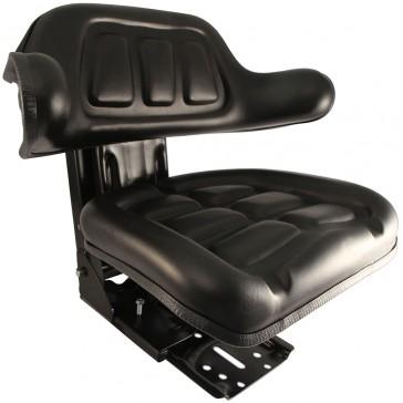 asiento tractor color negro