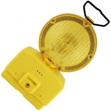 baliza luminosa para señalizacion de obras