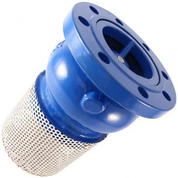 valvula de pie con filtro GAER