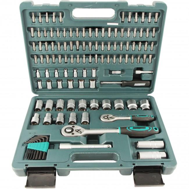 Malet n de herramientas profesional mannesmann de 115 piezas - Maleta de herramientas ...
